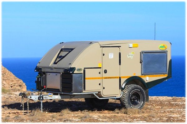 Amazing FOR SALE Desert Storm Off Road Caravan