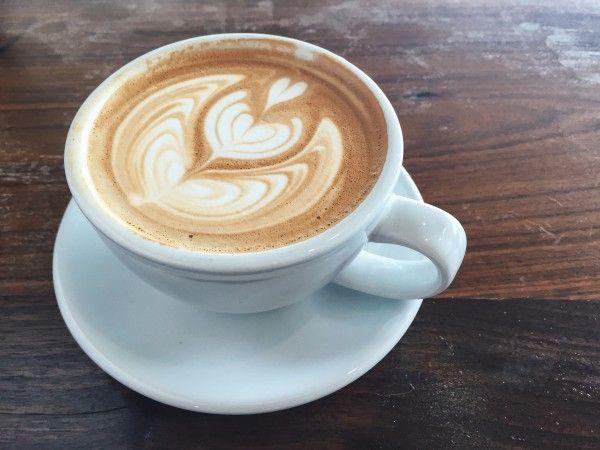 Van Gogh–Inspired Latte Art