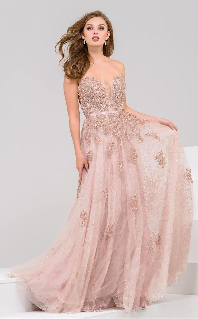 Jovani 93765 Embellished Sweetheart A Line Dress In 2018 Elegant