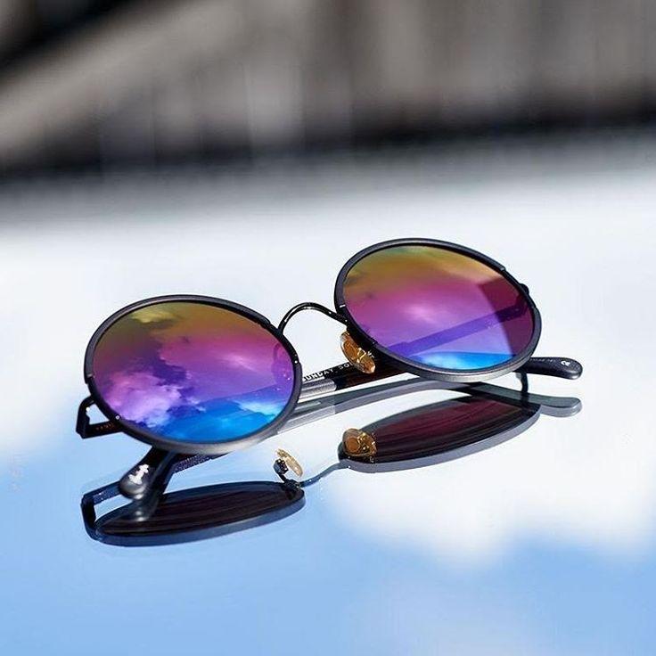 The rainbow YETTI as worn by @ninadobrev... the most Fashionably - on-trend - festival frame of the season.  #sundaysomewhere