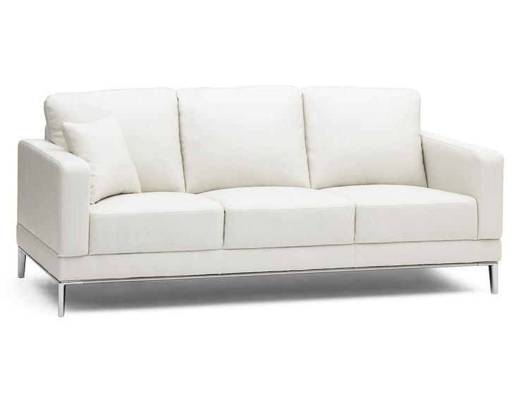 KOMPACT - 3-seater sofa - White