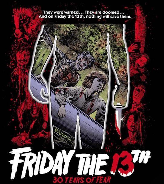 Afiche Fiday the 13th ó Viernes 13 ó Martes 13