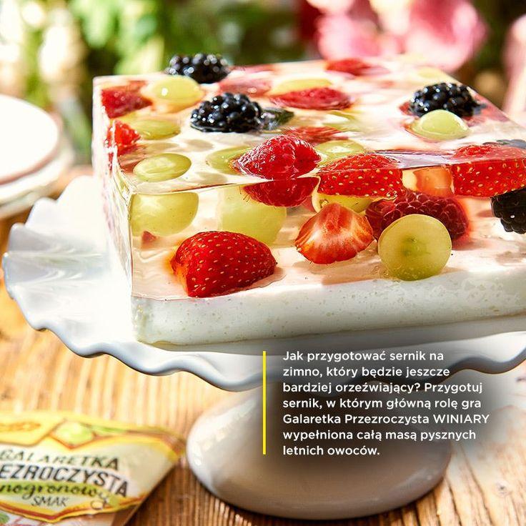 Zaskakujące letnie desery z Galaretką Przezroczystą WINIARY - pyszne przepisy kulinarne na okazję - WINIARY