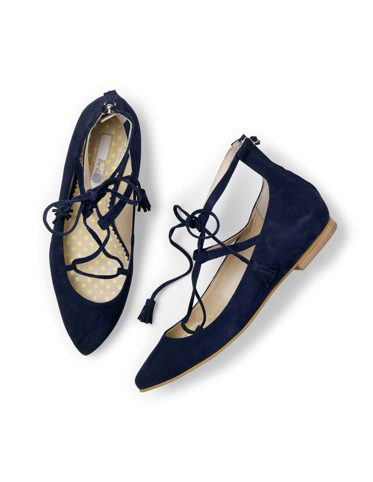 Elegant Boden Lille Lace Ups SS