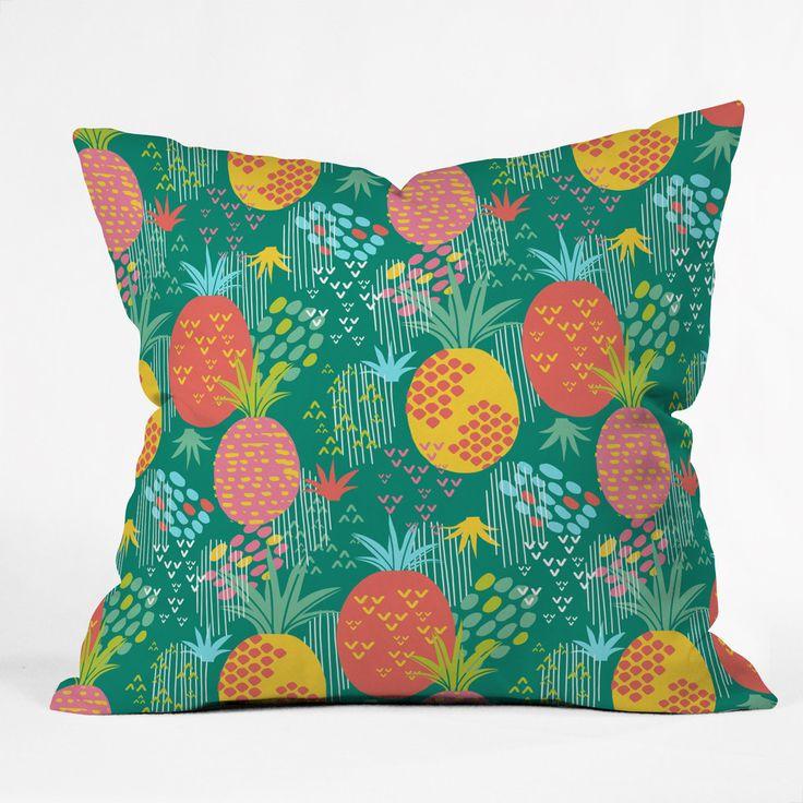 Sofas For Sale Zoe Wodarz Day Pineapple Polyester Throw Pillow