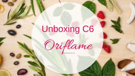 Unboxing Oriflame c6 2017 beauty blog lindemona