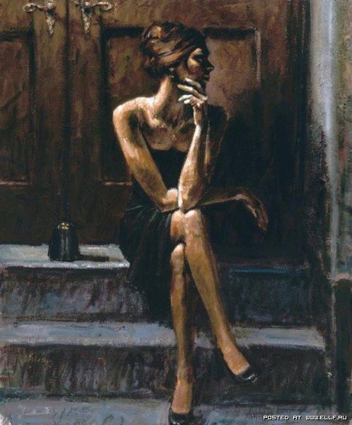 fabian perez art paintings portraits