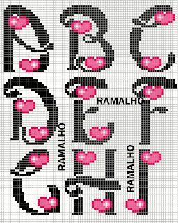 Ramalho C: Fonte pepinot + corações