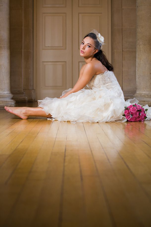 Reportage wedding photography tips for during the shoot: experiment with your camera angle