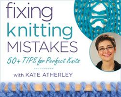 Crocheting Mistakes : Learn how to fix knitting mistakes with this highly recommended video ...