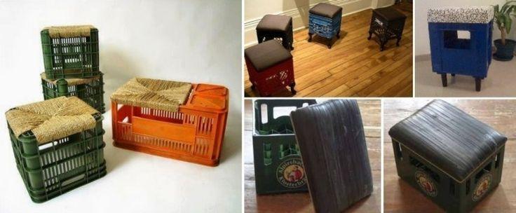 C mo amueblar tu casa reciclando cajones pl sticos de for Renovar tu casa reciclando