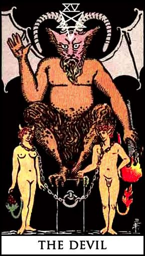 An in depth analysis of the #Devil tarot card meanings and imagery. Key Words: Bondage, Materialism, Ignorance, Addiction