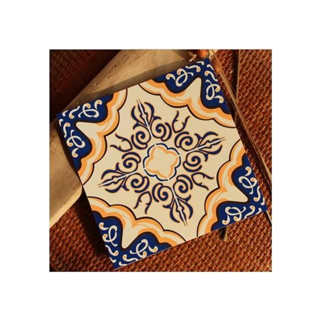 Mediterranean style Self Adhesive Tile Art Wall Decal Sticker DIY Kitchen Bathroom Home Decor Vinyl