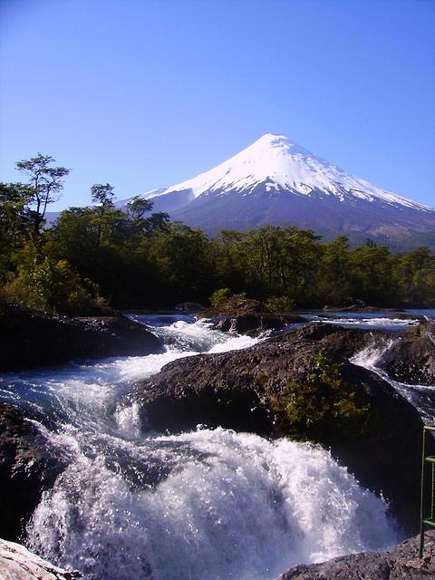 Petrohue Falls-Chile