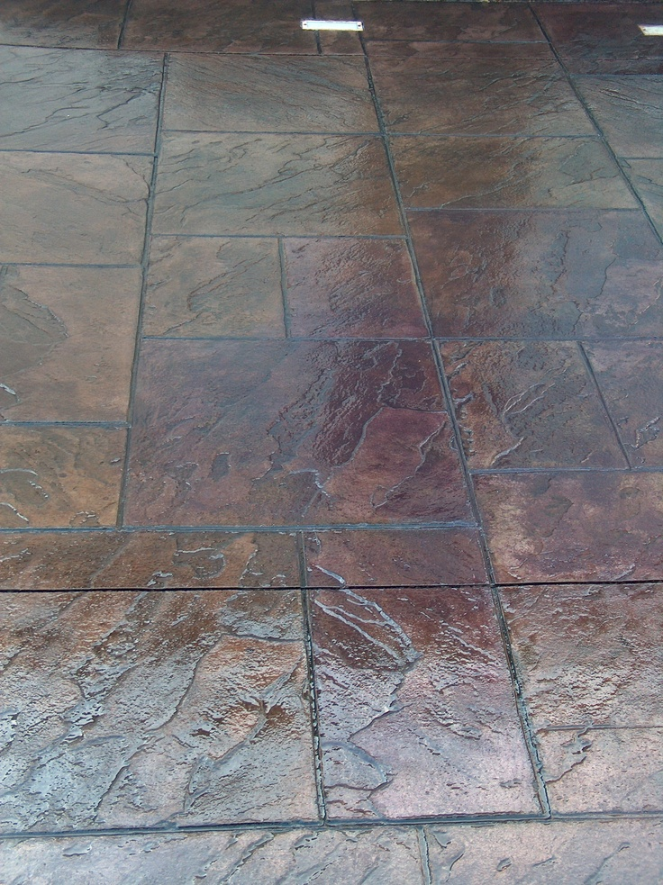 Stamped Concrete Restoration Using Smith Paints Cement