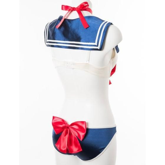 Look sexy by moonlight with official Sailor Moon lingerie-- I want this so bad but their sizes are just a smidge too small :(((