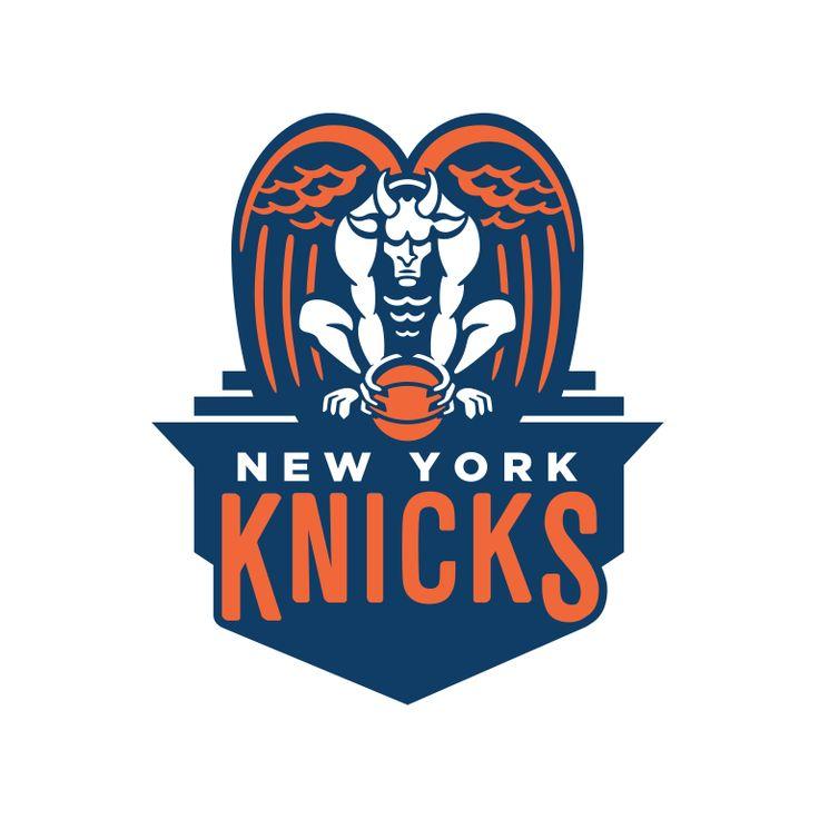 nba knicks logo