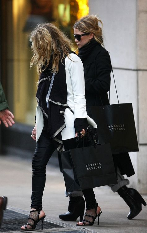 Olsen twins style to strive for