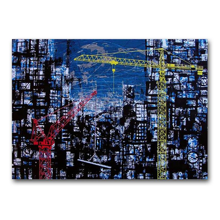 City by West Auckland artist Ted Dutch.