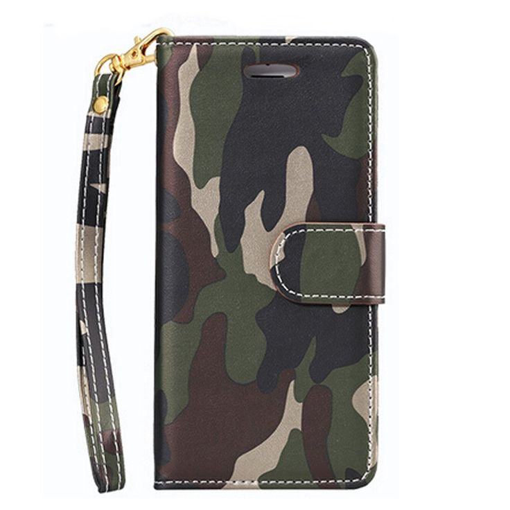 for iPhone 6 Leather Case 4.7 inch - Tinymax Camouflage Wallet Flip Leather Cover Case Shell with Card Holders Fashion Stand-up Design For iPhone 6 6s -- Awesome products selected by Anna Churchill