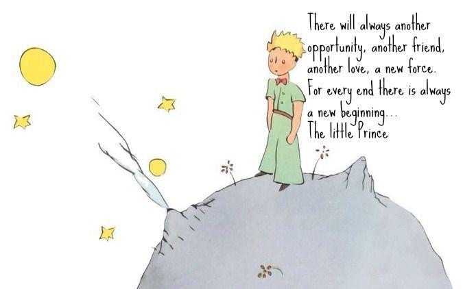 The Little Prince.  Le petit Prince, Il piccolo Principe