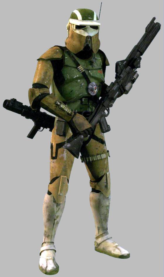 Différents types de StormTroopers - La boite verte                                                                                                                                                     Plus