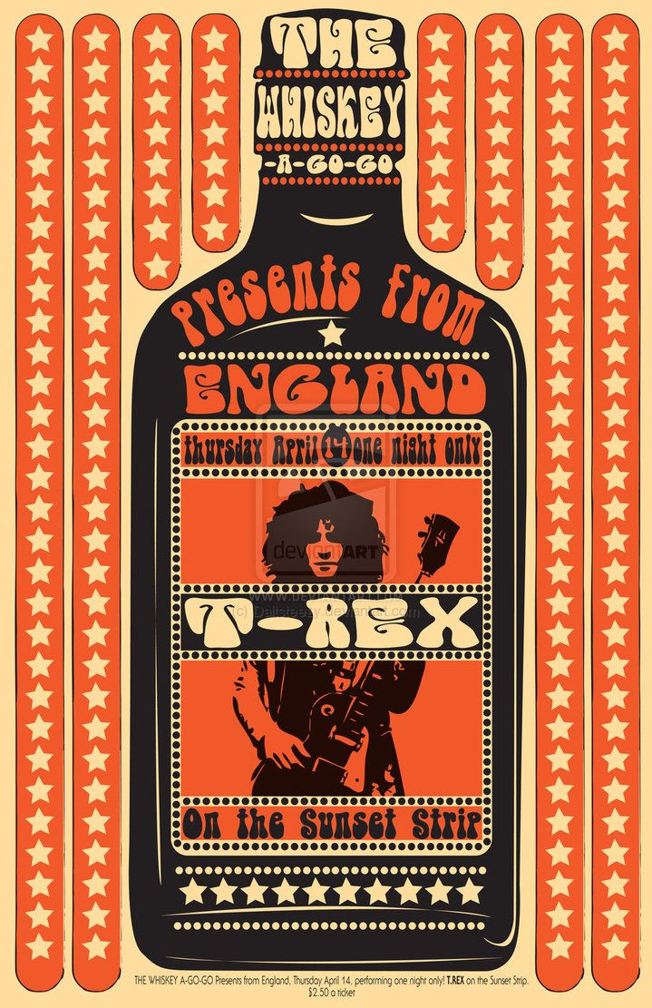 T. Rex at The Whiskey a Go Go - $2.50 a ticket.