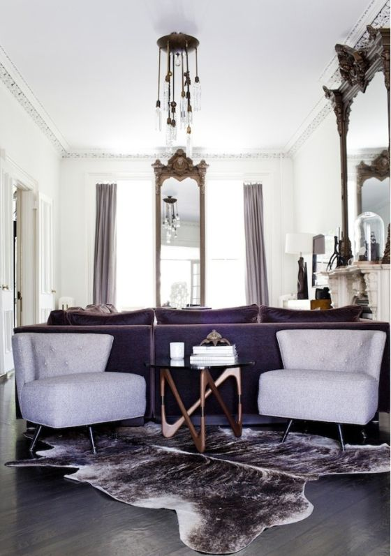 1000 images about decorating with cowhide on pinterest for Cowhide decorating ideas