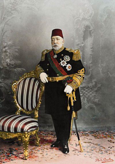 """Osmanlı Sultanı """"Sultan Reşat"""" Han Hazretleri."""