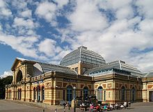 Alexandra Palace - in Alexandra Park in London (pinned from Wikipedia)