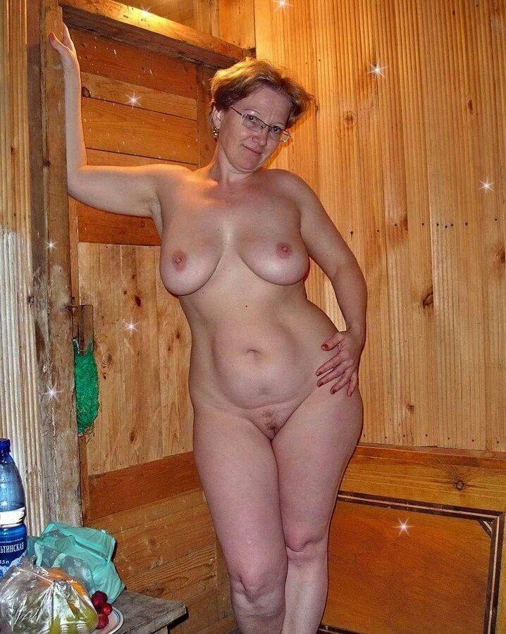 Undressed naked older curvy women