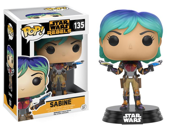Star Wars Rebels POP! Vinyl Figure - Sabine @Archonia_US
