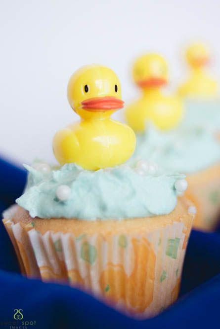 Baby Shower Vanilla Cupcakes