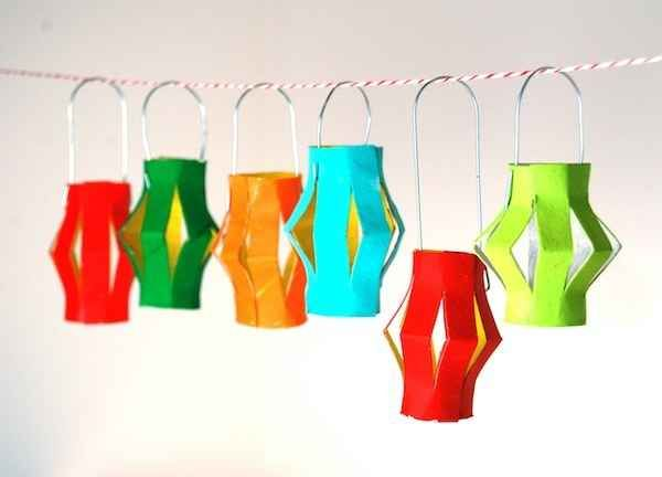 Toilet Paper Roll Lanterns | 22 Cool Kids Crafts You Can Make From Toilet Paper Tubes