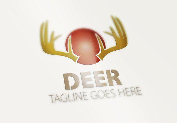 Deer Logo by eSSeGraphic on @creativemarket