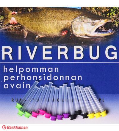 RiverBug tube fly sleeves for easy fly tying. #fishing #flyfishing #flytying #salmon #riverbug #rivertube #kärkkäinen  www.riverbug.fi