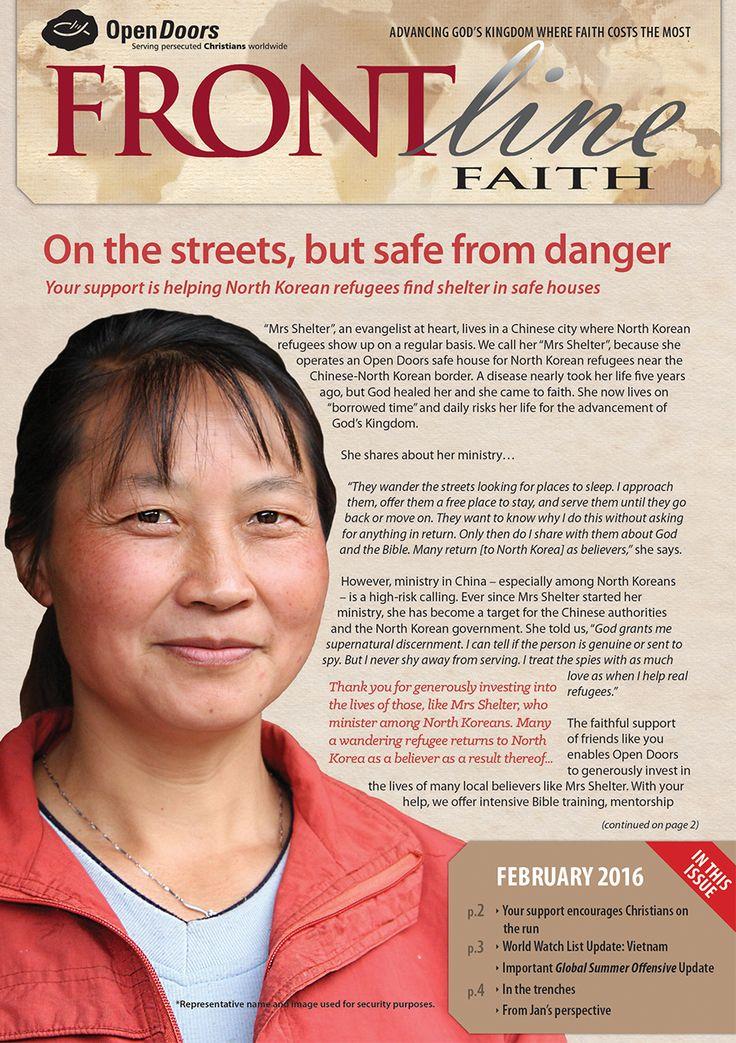 Frontline Faith - February 2016