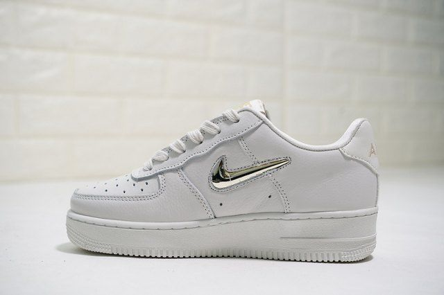 Nike Air Force 1 '07 PRM LX Phantom Metallic Gold Star
