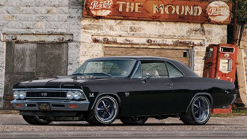 "1966 Chevy Chevelle SS ""Black Sabbath"" 