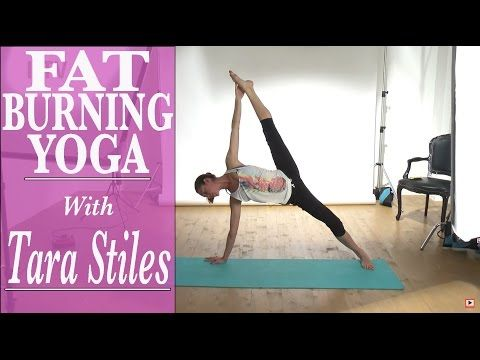 Fat burning yoga with Tara Stiles - YouTube