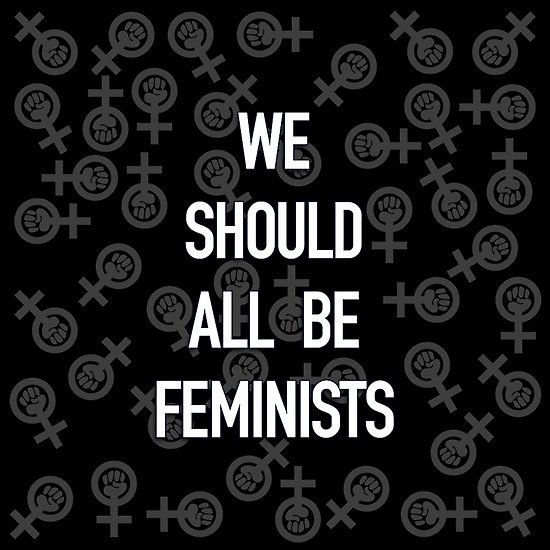 We Should All Be Feminists and Logo