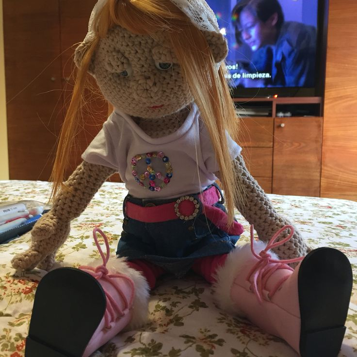 muñeca crochet 2