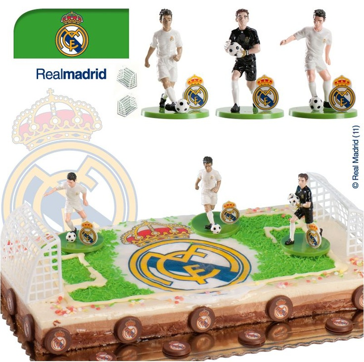 17 best ideas about real madrid cake on pinterest real madrid soccer cakes and real madrid logo - Real madrid decorations ...