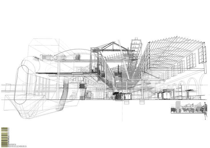 Project REmode Center in Versuchsanstalt für Wasserbau und Schiffbau (VWS) (Berlin ) (Tiergarten) - Cristina Donate Rodríguez