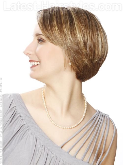 Short Haircut with Layers Side The Brigitte The perimeter of this beautiful