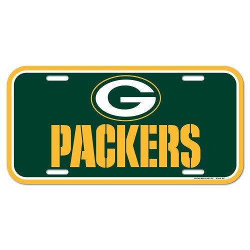 nice NFL Green Bay Packers License Plate