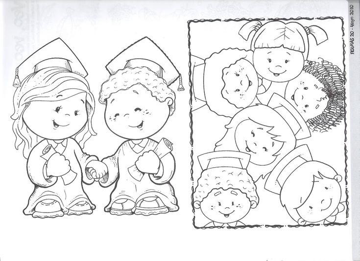 Dibujo De Bolígrafo Infantil Y Libreta Para Colorear: 1000+ Images About Graduación On Pinterest