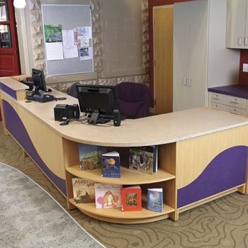 find this pin and more on library circulation desk - Library Circulation Desk Design