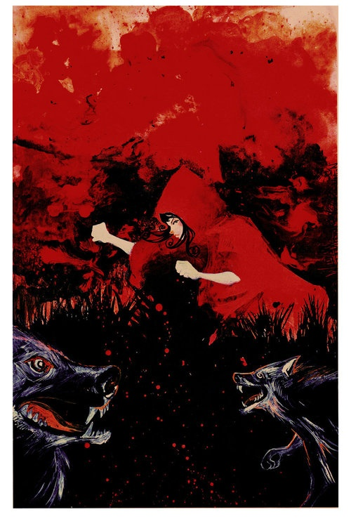 Red Riding Hood 2 by ~afromation