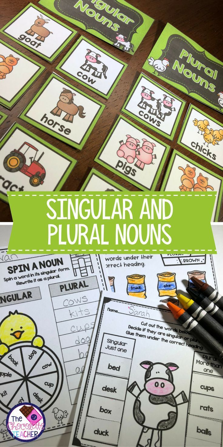 Are You Looking For Fun Easy To Use Activities To Teach Your First Grade Students About Singular And Plural No Singular And Plural Nouns Plurals Plural Nouns [ 1470 x 735 Pixel ]
